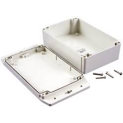 Univerzální pouzdro polykarbonát Hammond Electronics 1555H2F42GY, 180 x 120.79 x 62 , světle šedá