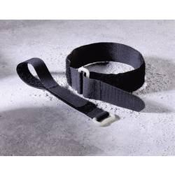 Páska se suchým zipem Fastech 19046/30, 400 mm x 30 mm, černá