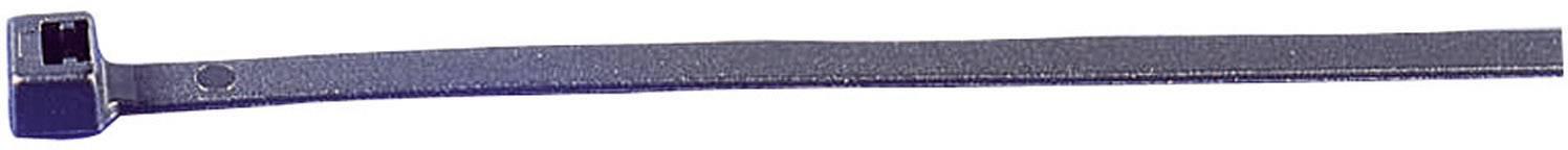 Stahovací pásky HellermannTyton UB200C-B-PA66-BK-C1 905-72008, 200 mm, Polyamid 6.6, černá, 100 ks