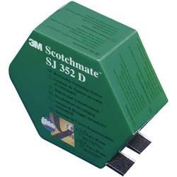 Lepiaci pásik so suchým zipsom 3M SJ 352D Scotchmate 7000070522, (d x š) 5000 mm x 25.4 mm, čierna, 1 pár
