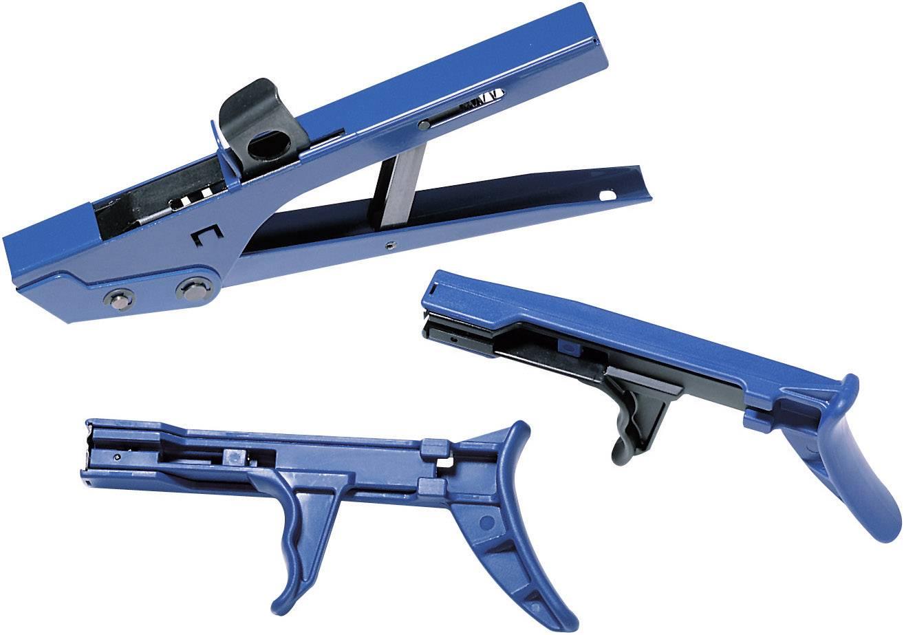 Kleště pro stahovací pásky HellermannTyton MK20, max. 4,8 mm, modrá