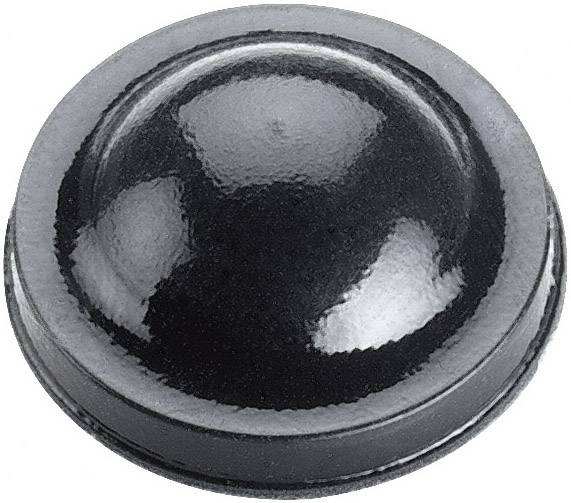 Tlumič nárazů 3M SJ6125, (Ø x v) 15.9 mm x 6.35 mm, černá, 1 ks