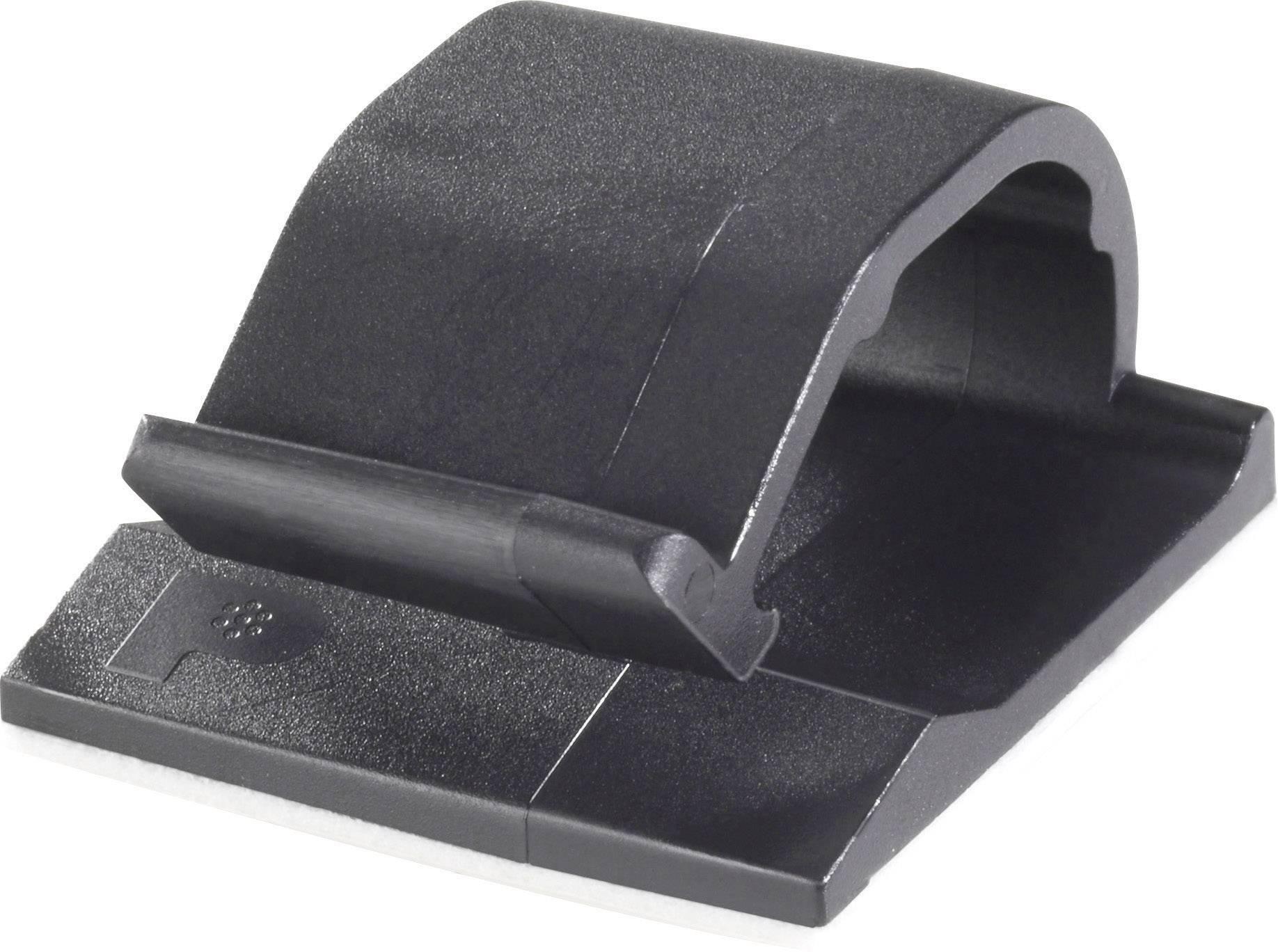 Kabelová spona Panduit ACC19-AT-C0 ACC19-AT-C0, samolepicí, 4.80 mm (max), černá, 1 ks