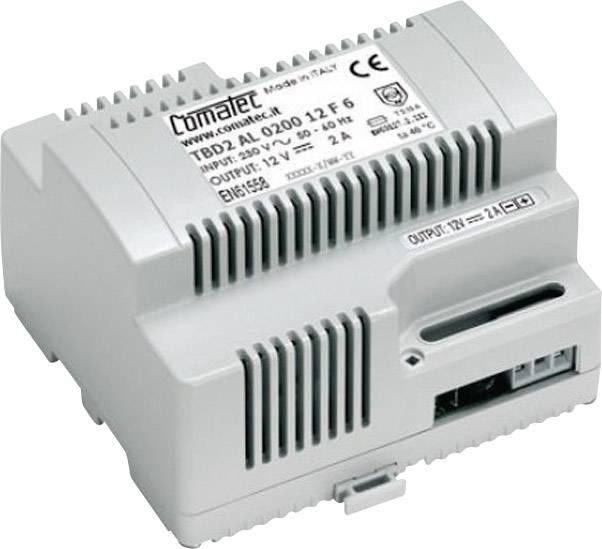 Sieťový zdroj na montážnu lištu (DIN lištu) Comatec TBD2/AL.0200.12/F6, 12 V/DC, 2 A, 24 W