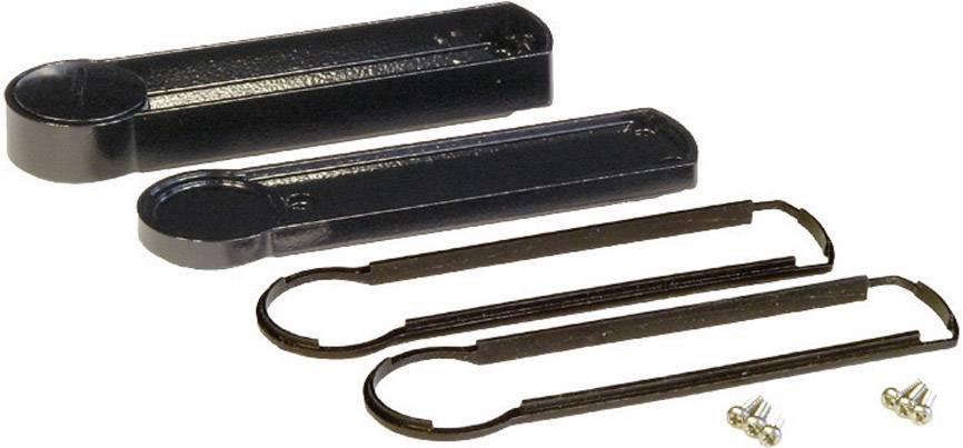 Plastová krabička Rolec MOBILECASE P100-2-160DK-CONRAD, 160 x 138 mm, hliník, IP54, sivá, 1 ks