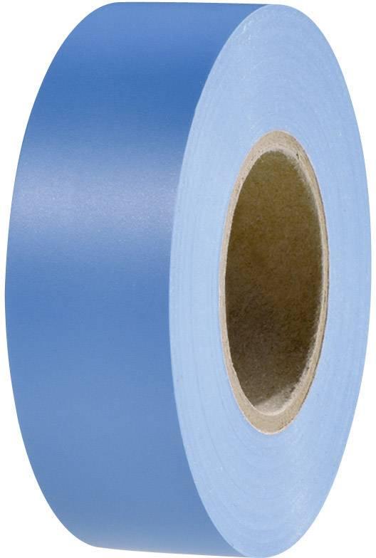 Izolačná páska HellermannTyton HelaTape Flex 15 710-00151, (d x š) 20 m x 19 mm, modrá, 1 roliek