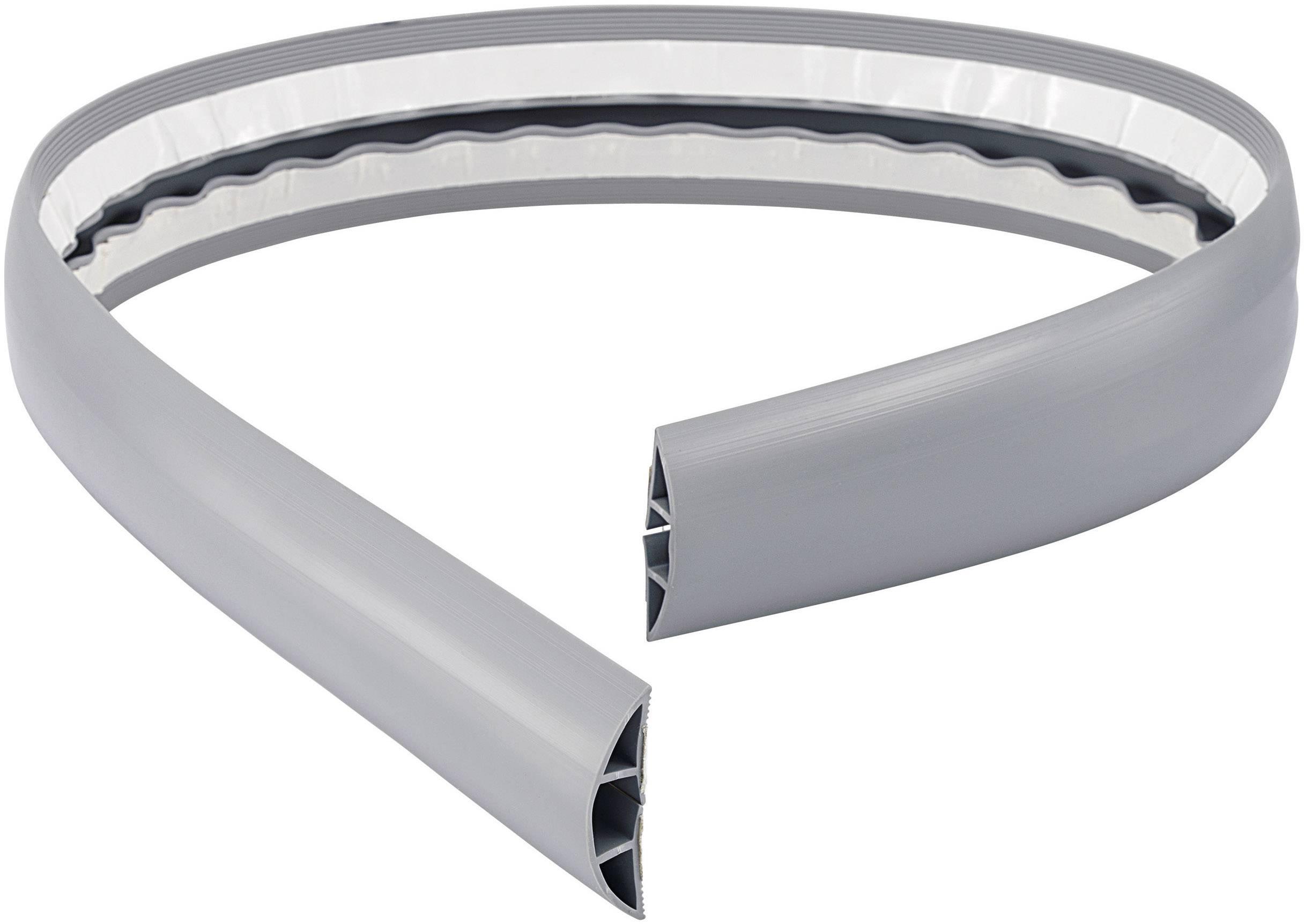 Káblový mostík TRU COMPONENTS 1566306 (d x š) 1800 mm x 50.8 mm, sivá, 1 ks