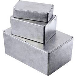 Tlakem lité hliníkové pouzdro Hammond Electronics, (d x š x v) 119,5 x 119,5 x 94 mm, hliníková