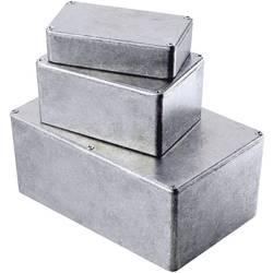 Tlakem lité hliníkové pouzdro Hammond Electronics, (d x š x v) 121 x 80 x 59 mm, hliníková (1590WT)