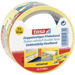 Obojstranná lepiaca páska tesa 56170-00004-01 56170-00004-01, (d x š) 5 m x 50 mm, biela, 1 roliek