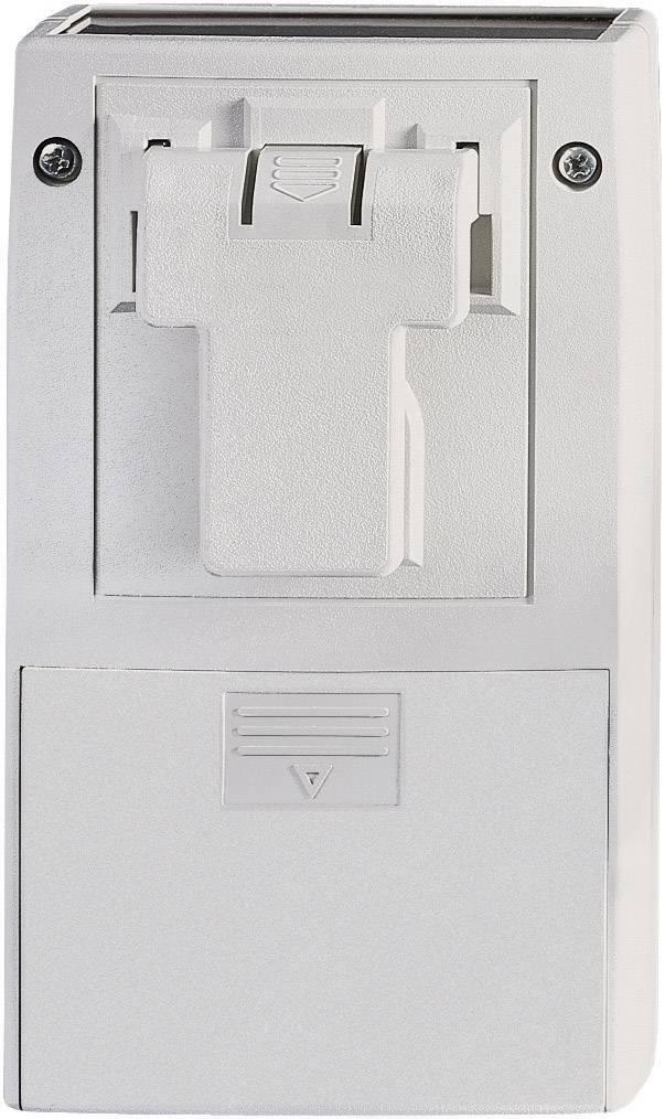 Univerzální pouzdro ABS Pactec RC24-9VB-BC-FL.-039, 112 x 63 x 29,5 mm, šedá (RC24-9VB-BC-FL.-039)
