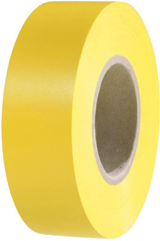 Izolačná páska HellermannTyton HelaTape Flex 15 710-00153, (d x š) 20 m x 19 mm, žltá, 1 roliek