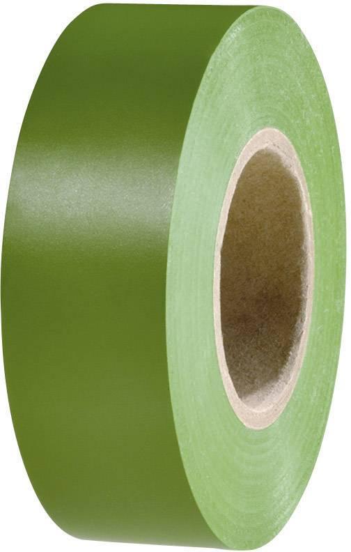 Izolačná páska HellermannTyton HelaTape Flex 15 710-00154, (d x š) 20 m x 19 mm, zelená, 1 roliek