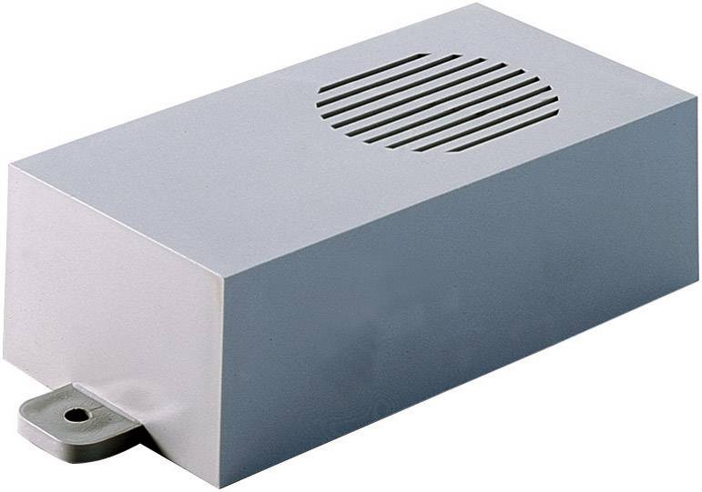 Modulová krabička Strapubox C02 C02, 115 x 60 x 35 , ABS, sivá, 1 ks