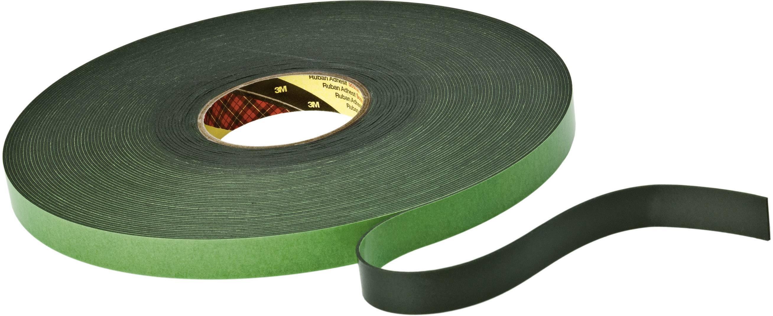 Oboustranná lepicí páska 3M 9515B KT777306210, (d x š) 33 m x 12 mm, akryl, černá, 1 role