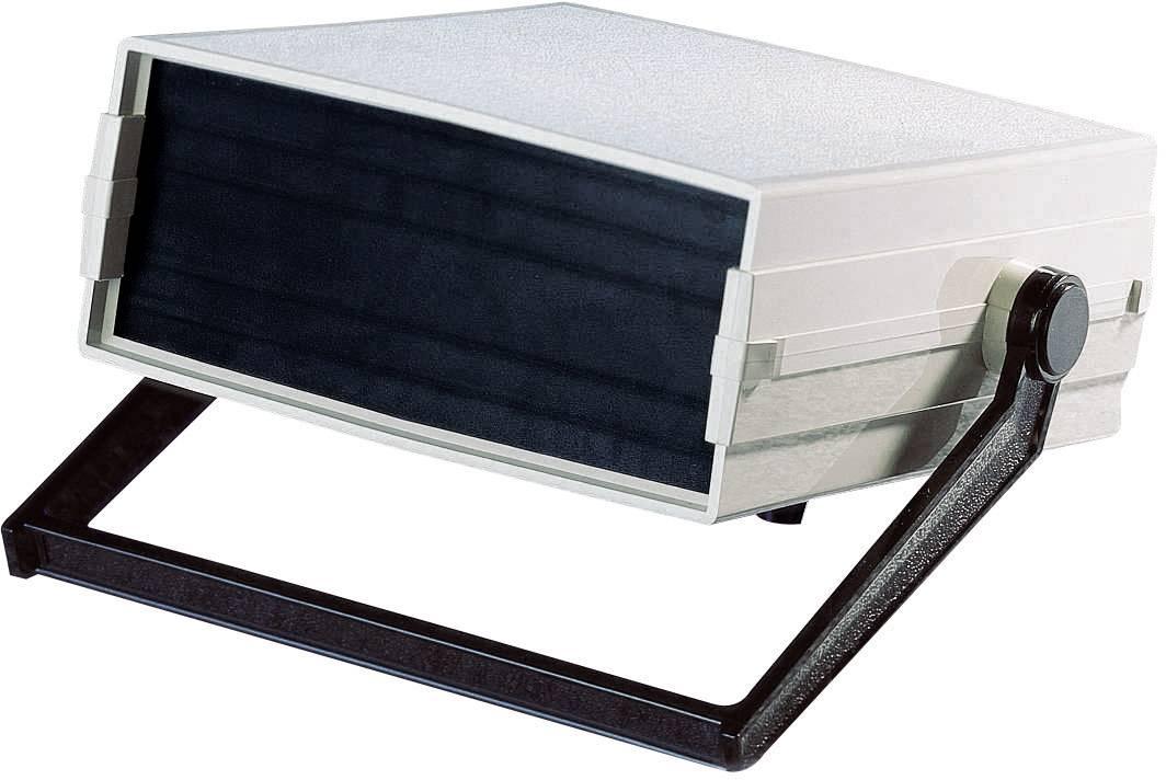 Skrinka na ovládací pult Pactec 216 x 94 x 235 mm, umelá hmota, béžová, čierna, 1 ks