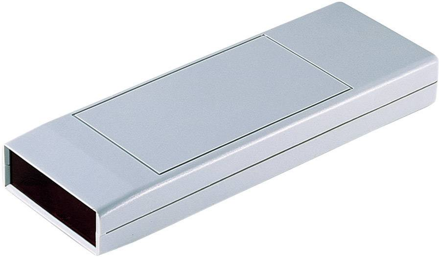 Plastová krabička TEKO SQ2, 175 x 61 x 24 mm, polystyrén, svetlosivá, 1 ks
