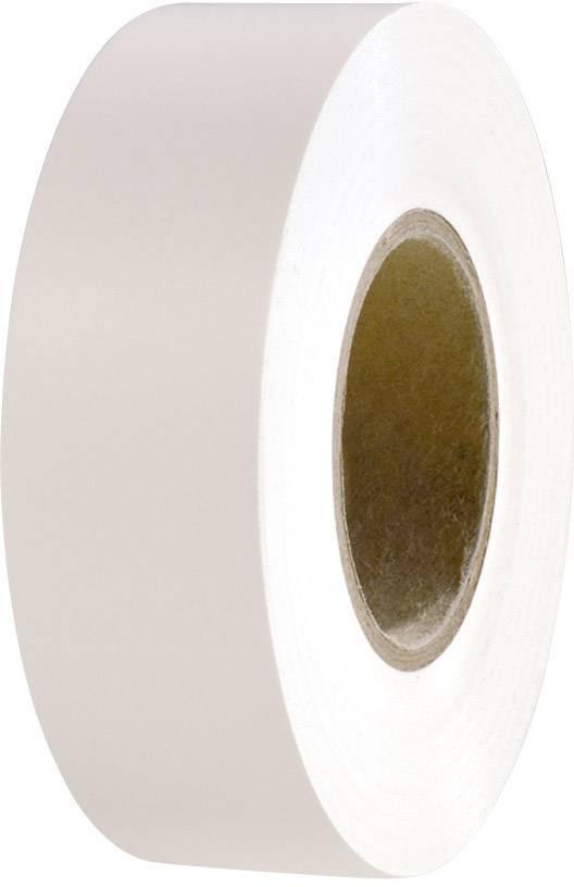 Izolačná páska HellermannTyton HelaTape Flex 15 710-00156, (d x š) 20 m x 19 mm, biela, 1 roliek