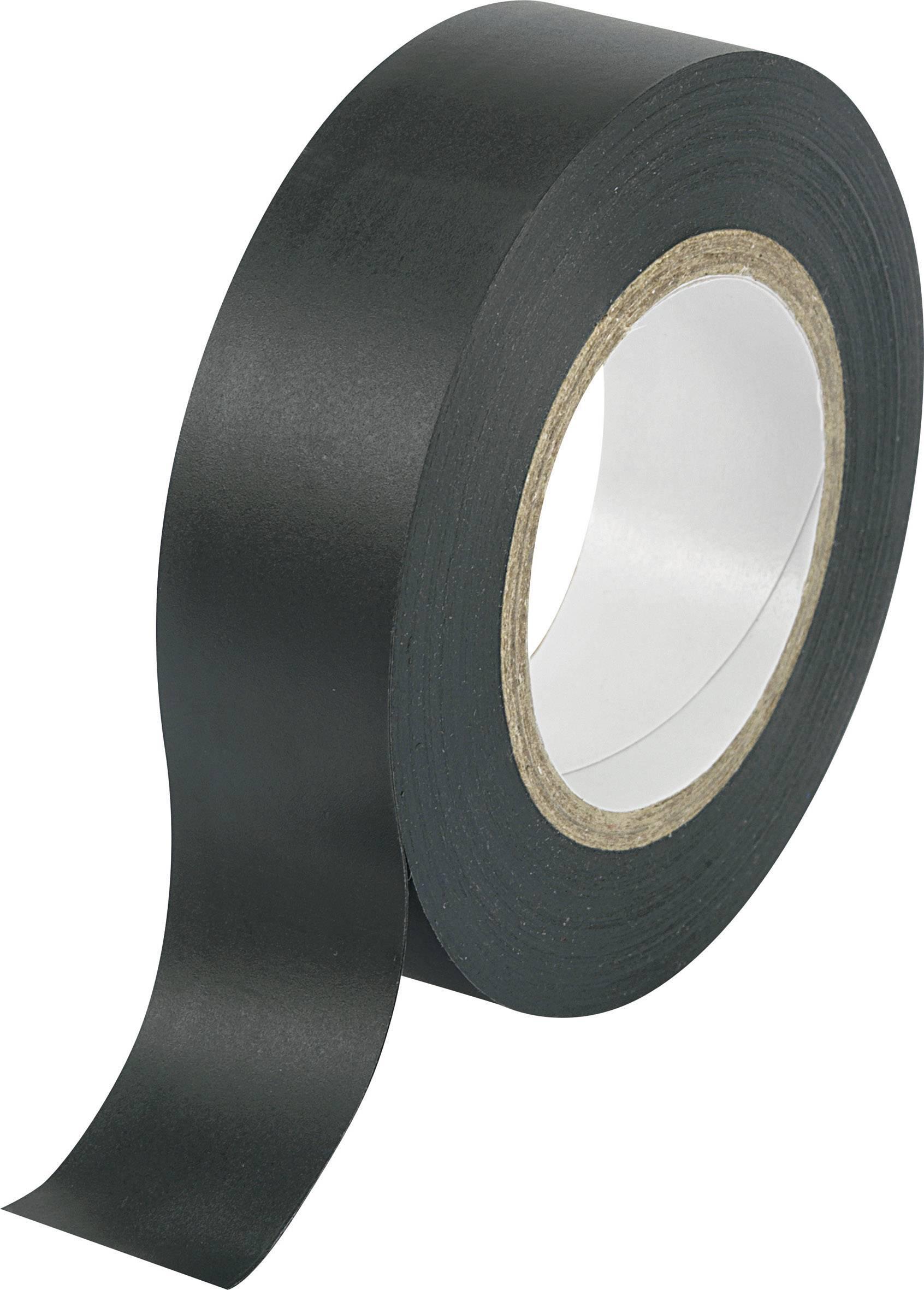 Izolačná páska TRU COMPONENTS SW10-156 1564095, (d x š) 10 m x 19 mm, čierna, 1 roliek