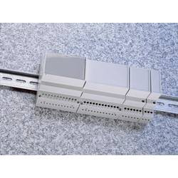 Pouzdro do lišty Weltron MR1/C FA RAL7035 ABS (018037129124), 17,5 x 90 x 68 mm