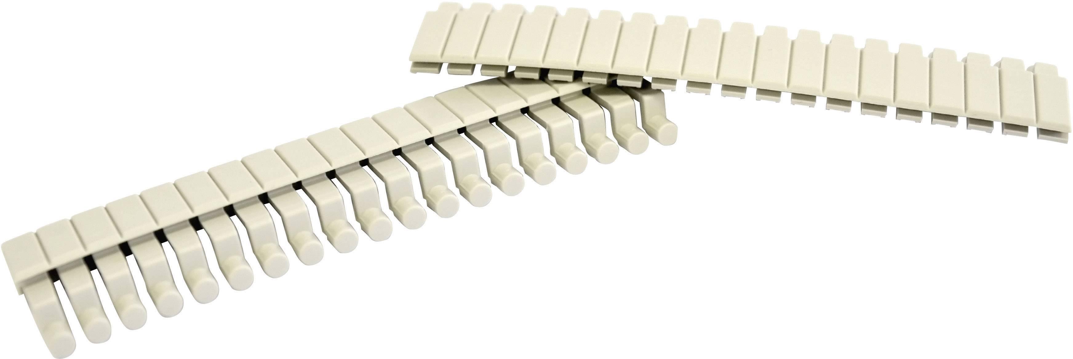 Záslepka Bopla CNB 100, umelá hmota, sivá, 2 ks