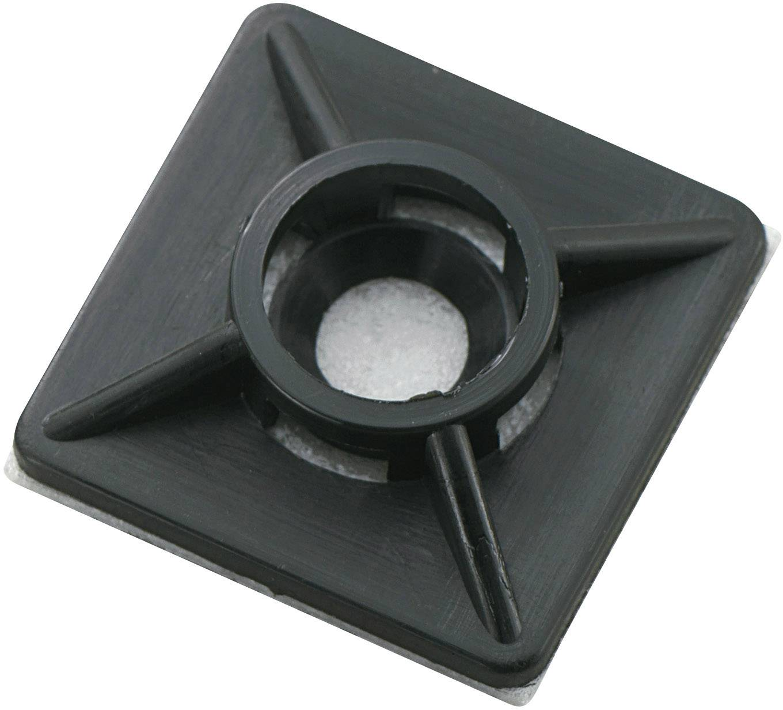 Úchytka TRU COMPONENTS WCA19RBK 541314, 3.60 mm (max), černá, 1 ks