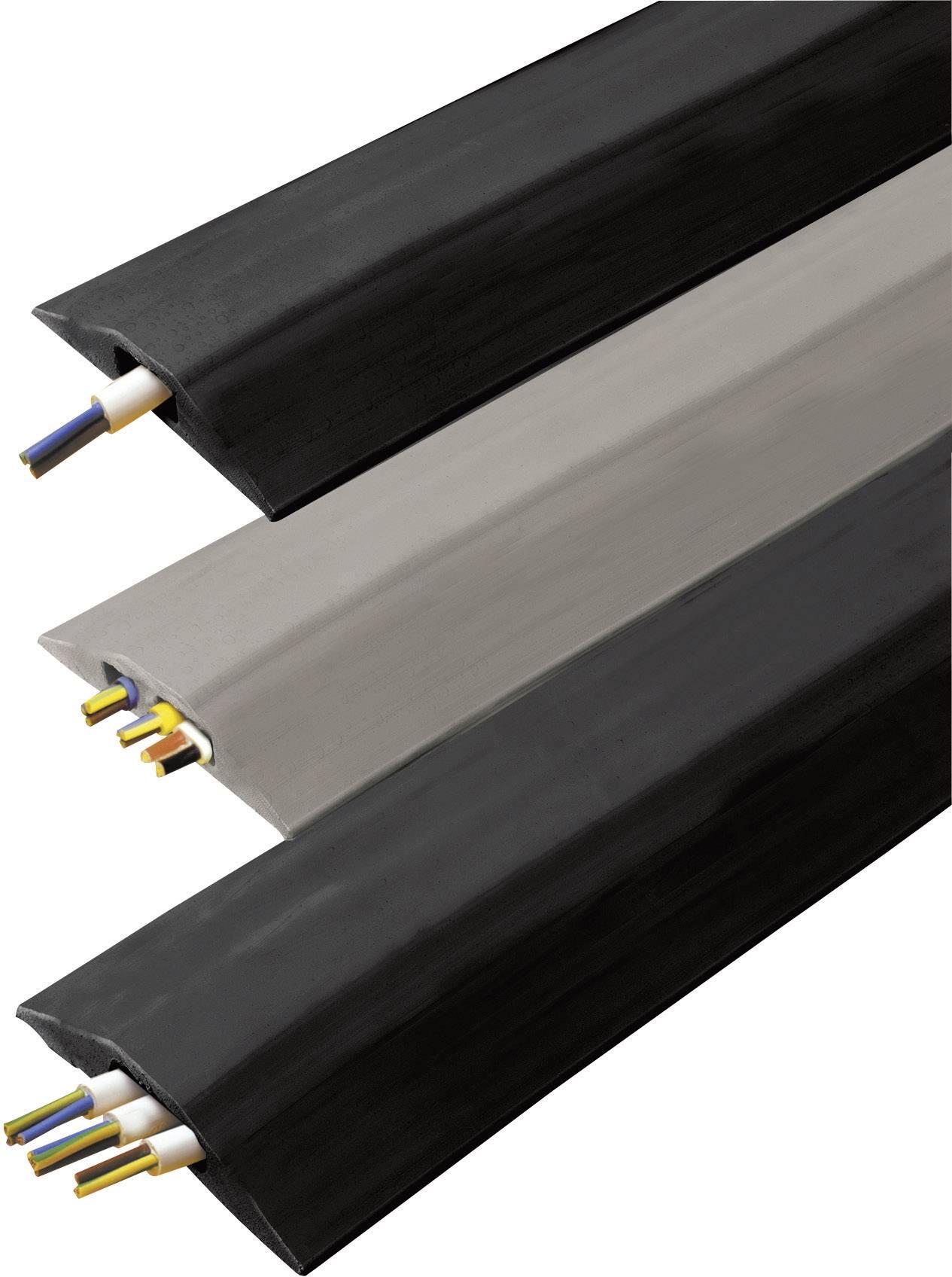 Káblový mostík Vulcascot VUS-001 VUS-001, (d x š x v) 3000 x 68 x 11 mm, čierna, 1 ks