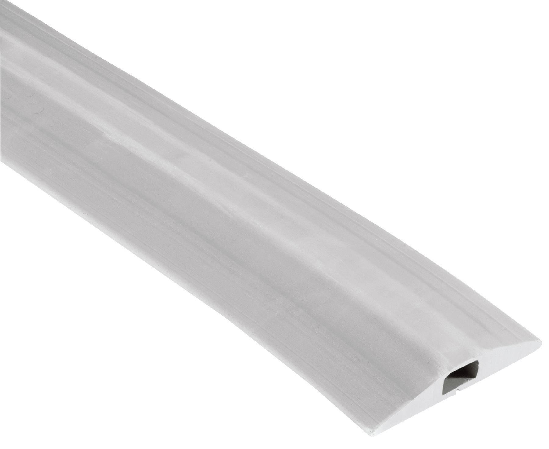 Káblový mostík Vulcascot VUS-002 VUS-002, (d x š x v) 3000 x 68 x 11 mm, sivá, 1 ks