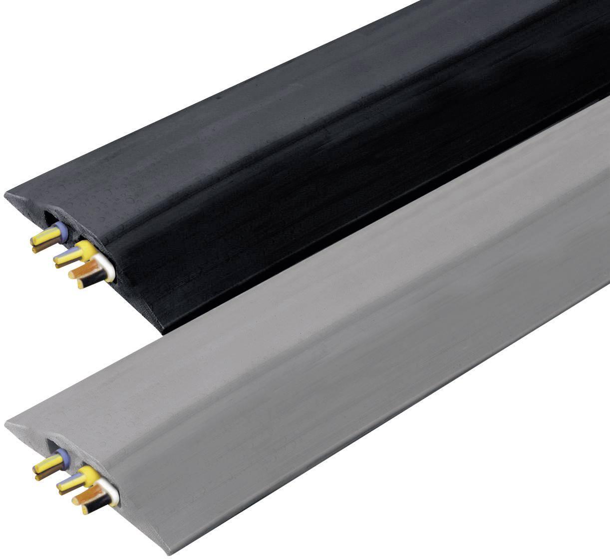 Kabelový můstek Vulcascot VUS-007, černá, 30 x 10 mm, 3000 x 83 x 14 mm