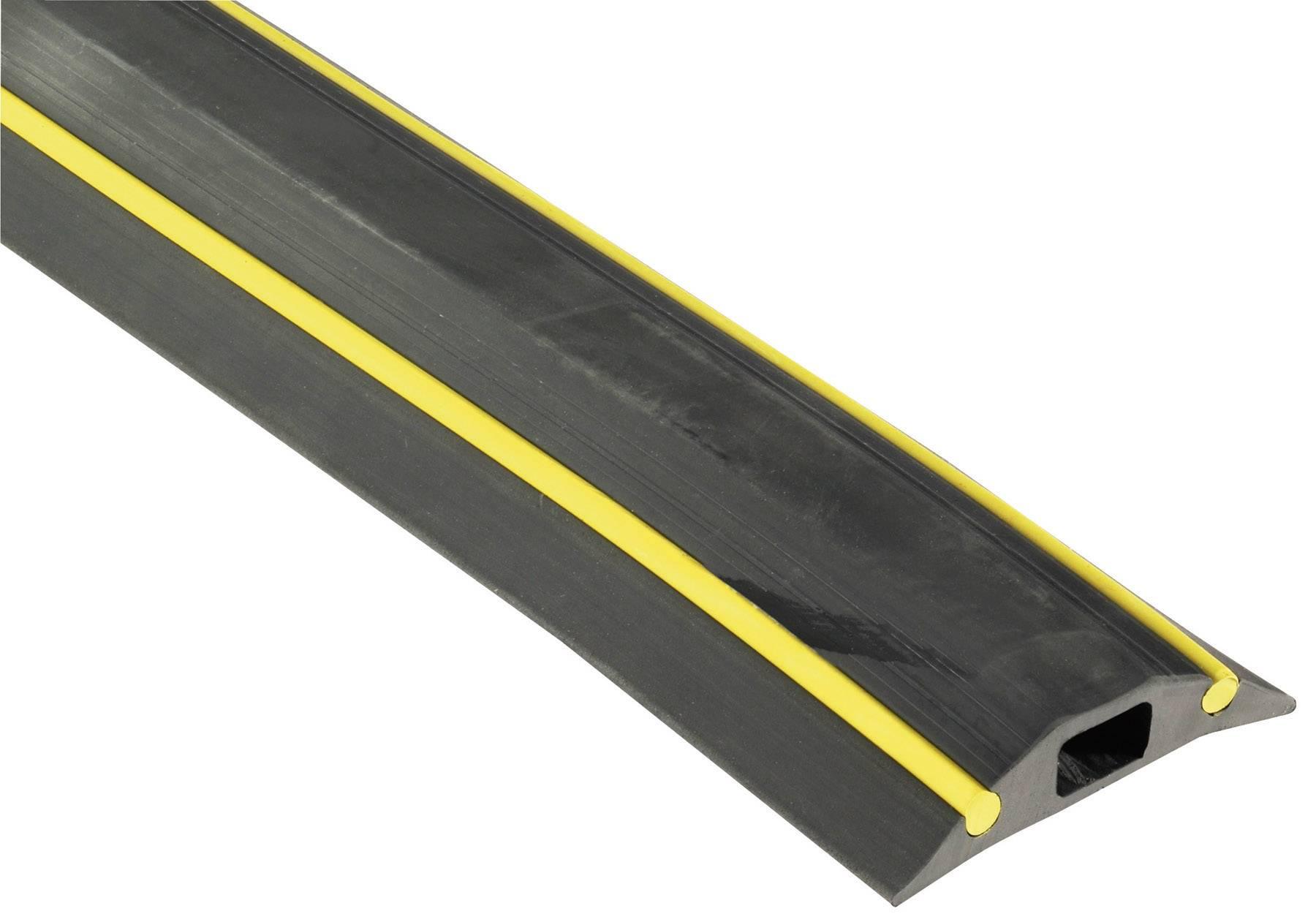Káblový mostík Vulcascot VUS-018 VUS-018, (d x š x v) 3000 x 83 x 16 mm, čierna, 1 ks
