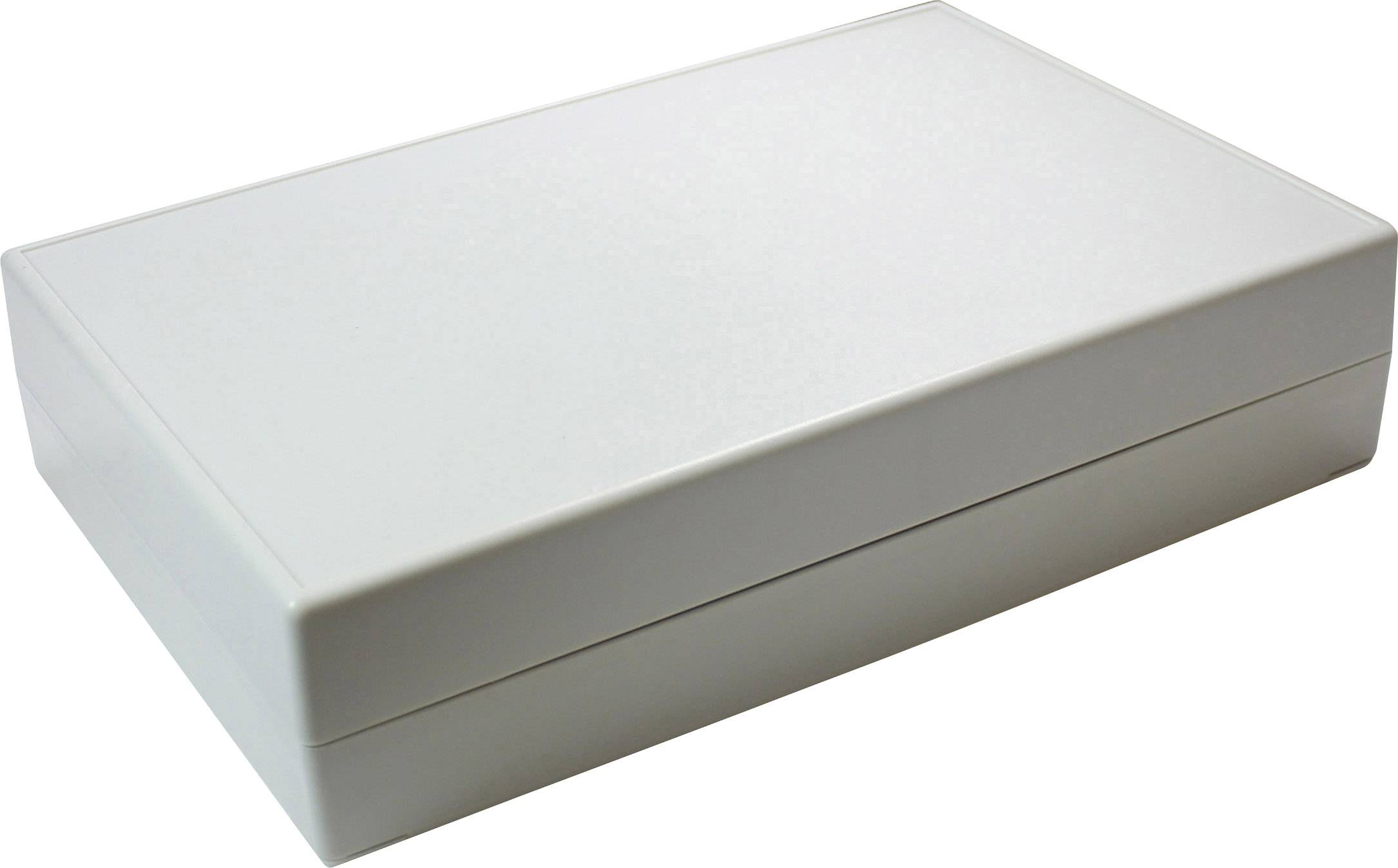 Stolní pouzdro ABS Axxatronic GEH.-SERIE 70 - 220X145X50, (d x š x v) 220 x 145 x 50 mm, šedá