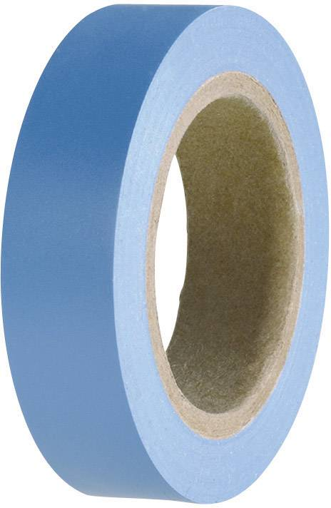 Izolačná páska HellermannTyton HelaTape Flex 15 710-00100, (d x š) 10 m x 15 mm, modrá, 1 roliek