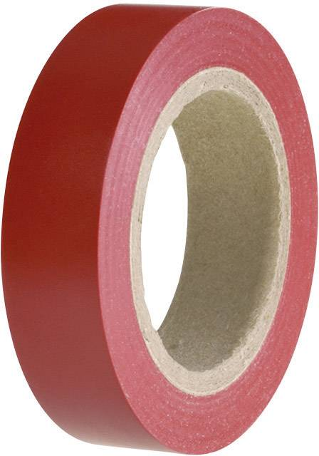 Izolačná páska HellermannTyton HelaTape Flex 15 710-00101, (d x š) 10 m x 15 mm, červená, 1 roliek