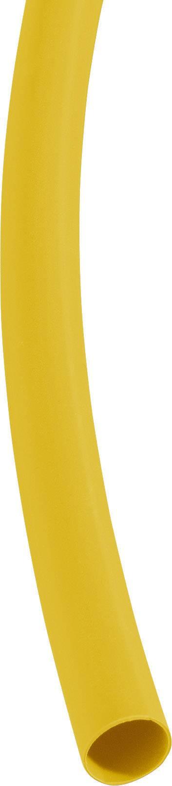 Smršťovací bužírka (1 m) 9/3 mm - žlutá