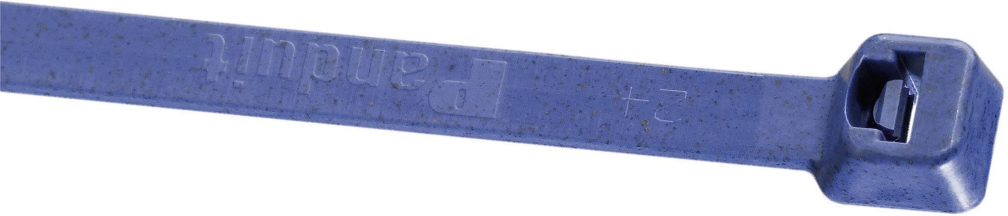 Sťahovacie pásky Panduit PLT2S-C186 A6B, 186 mm, modrá, 1 ks