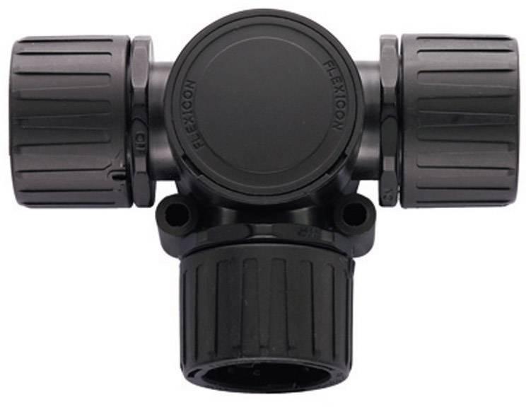HellermannTyton HG16-T 166-24800, 16 mm, 16 mm, 16 mm, čierna, 1 ks