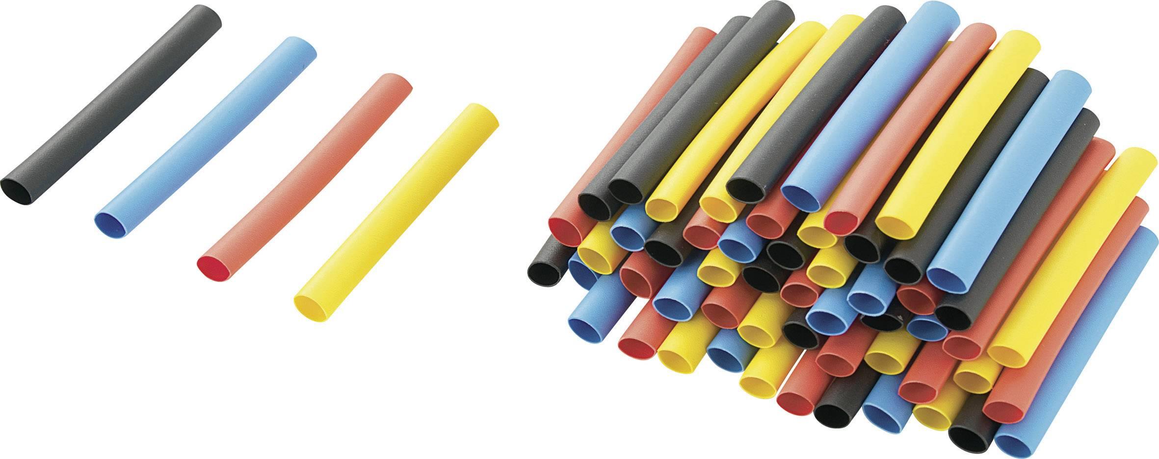 Sada smršťovacích bužírek TRU COMPONENTS RPS4 1570676 2:1, -50 až +125 °C, 3.20 mm, barevná, 80 ks