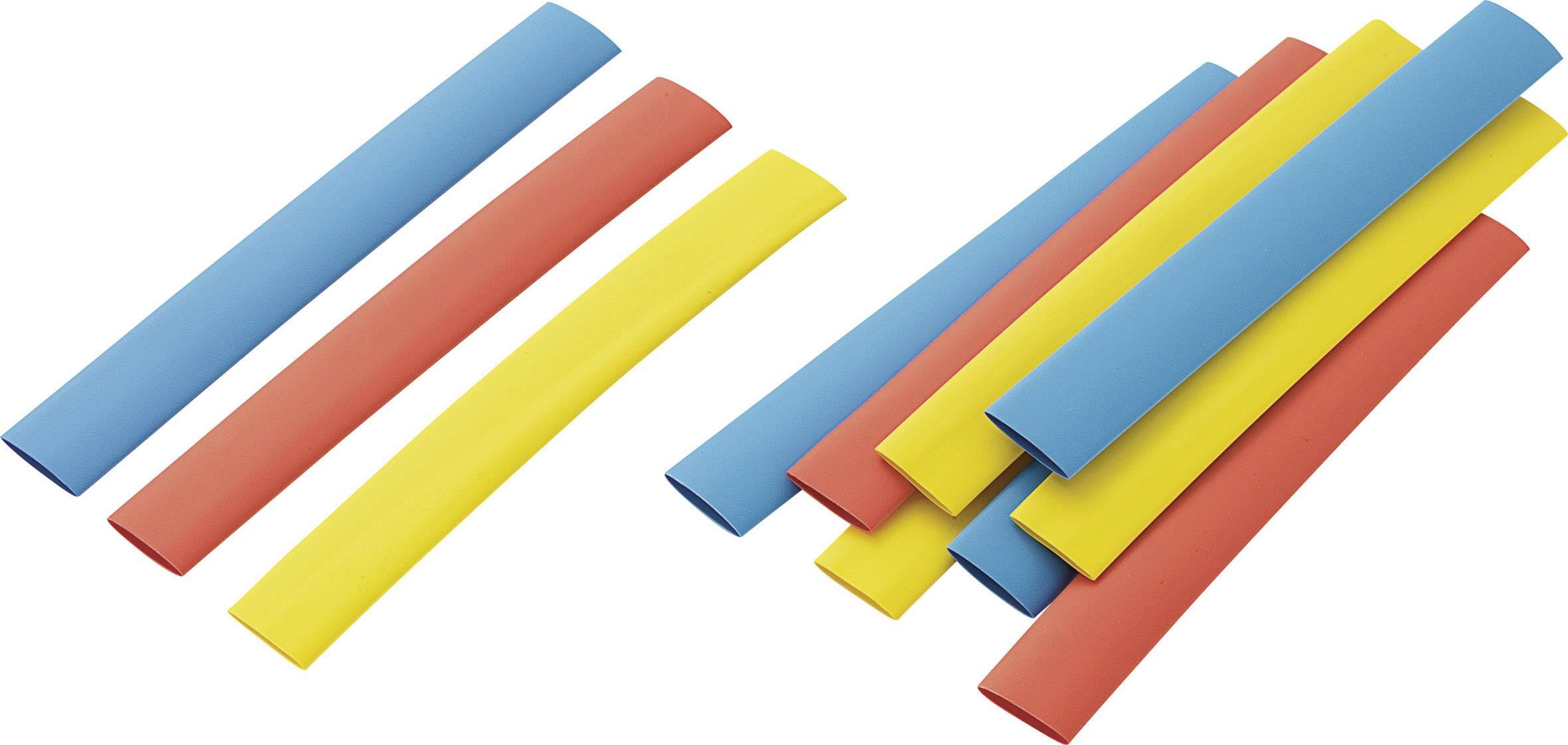 Náhradné kusy pre sadu zmršťovacích bužírok, 9,5 x 125 mm, 12 ks