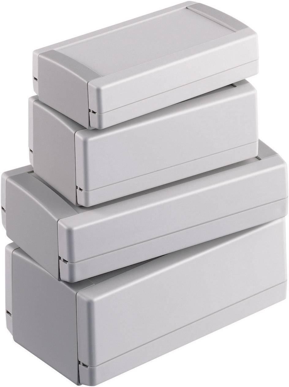 Univerzálne púzdro OKW TOP-TEC 154 FI 154 FI, 154 x 84 x 38 , ABS, sivobiela, 1 ks