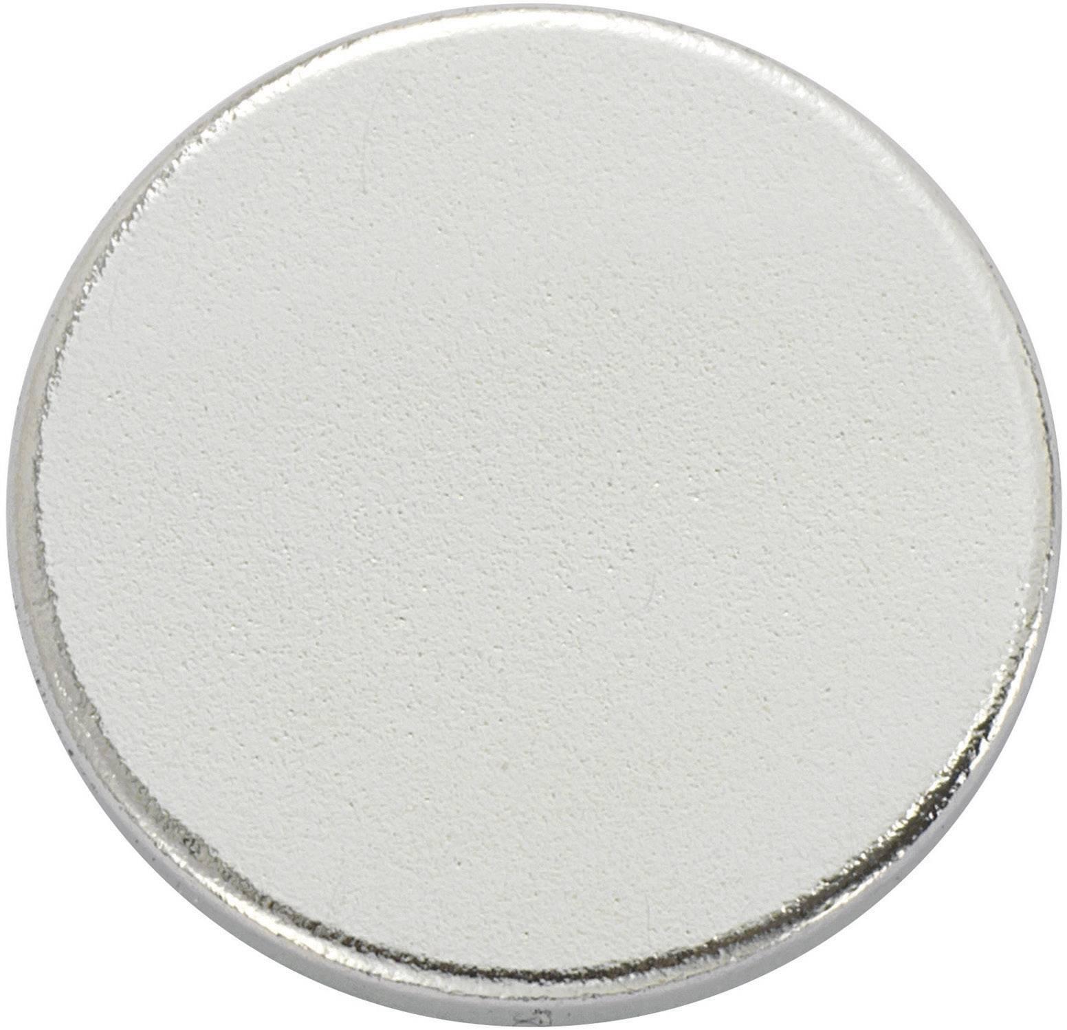 Samolepiace magnet TRU COMPONENTS N35-3502 1564100, (Ø) 15 mm, strieborná, 1 ks