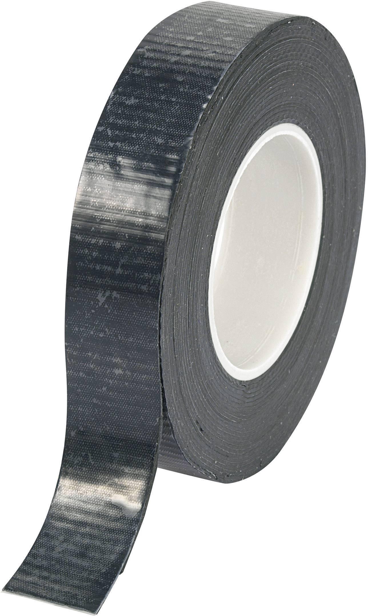 Inštalačné izolačná páska Conrad Components RT195M 542662, (d x š) 5 m x 19 mm, čierna, 1 roliek