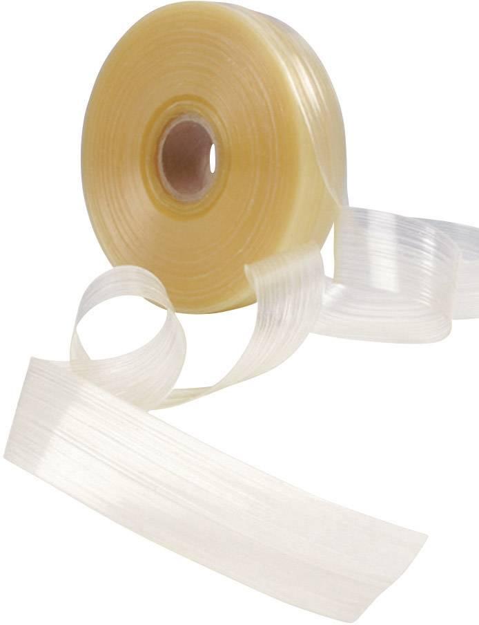 Tavná lepicí páska pro tepelně smršťovací bužírky HellermannTyton HMT200A-EVA-CL-10M 354-02260 -55 až +105 °C, průsvitná, 1 role