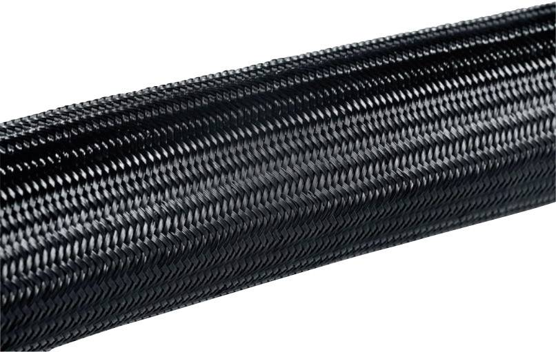 Ochranný oplet HellermannTyton HEGPA6610-N66-BK-C4 (170-41000), 12 mm, PA66, černá