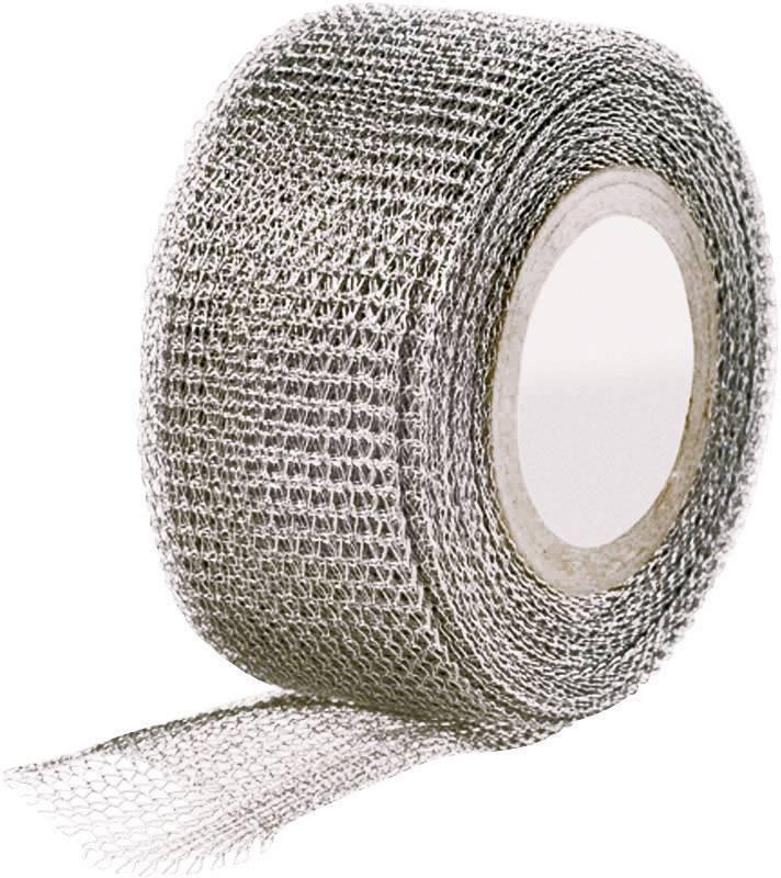 Páska se skelným vláknem HellermannTyton HelaTape Shield 320-CU 711-10002, (d x š) 4.6 m x 25 mm, kov, 1 role