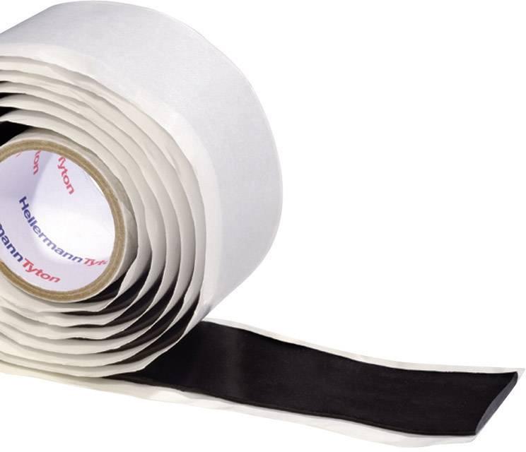 Instalatérská izolační páska HellermannTyton HelaTape Power 750 711-00300, (d x š) 1.5 m x 38 mm, černá, 1 role