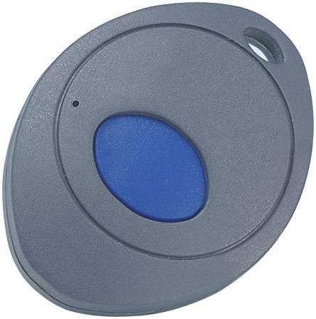 Plastová krabička TEKO OVO-3/1.4, 55 x 43.7 x 14 mm, ABS, tmavosivá, modrá, 1 ks