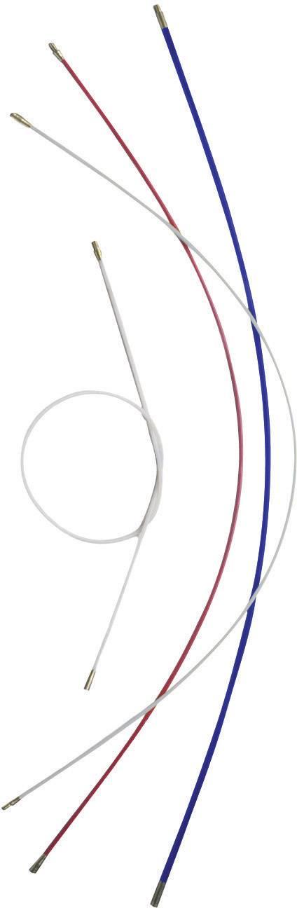 Prodlužovací tyče HellermannTyton Cable Scout CS-P4, 2 ks, bílá