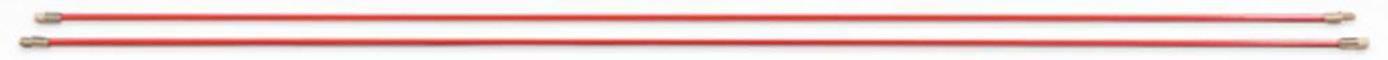 Prodlužovací tyče HellermannTyton Cable Scout CS-P5, 2 ks, červená