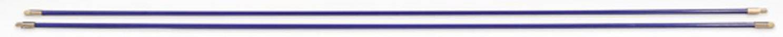 Prodlužovací tyče HellermannTyton Cable Scout CS-P6, 2 ks, modrá