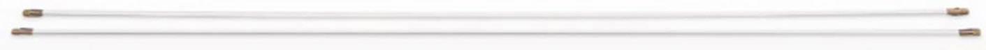 Prodlužovací tyče HellermannTyton Cable Scout CS-PN, 2 ks, bílá